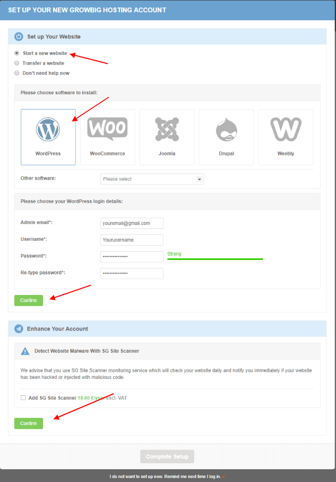 Siteground-setup-wordpress-blog-1